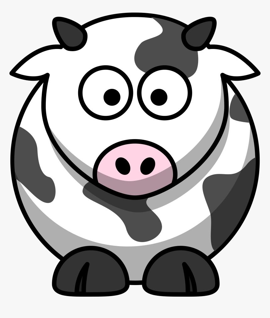 Clip Art Cartoon Animal Png Cartoon Cow Clipart Transparent Png Kindpng
