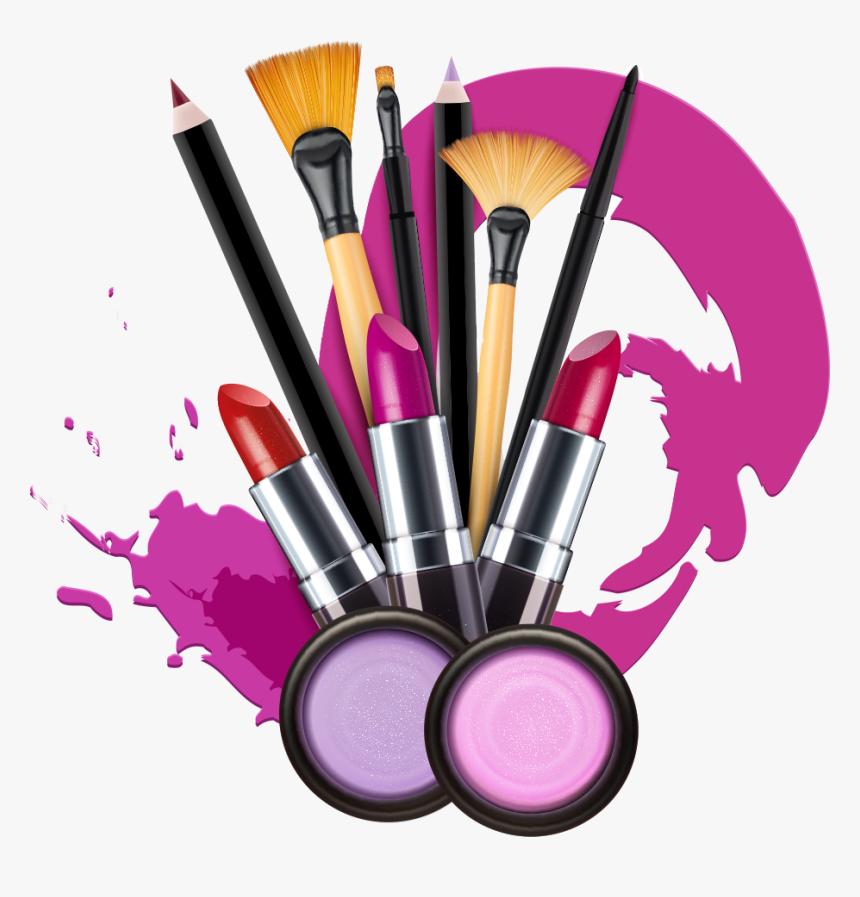 Lipstick Artist Photography Makeup Vector Cosmetics - Transparent Background Makeup Png, Png Download, Free Download