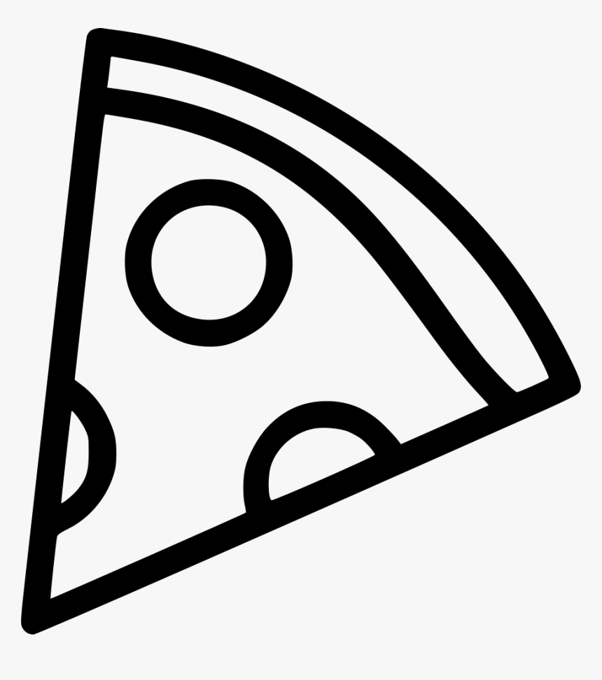 Pizza Slice Png - Slice Of Pizza Clipart Black And White ...
