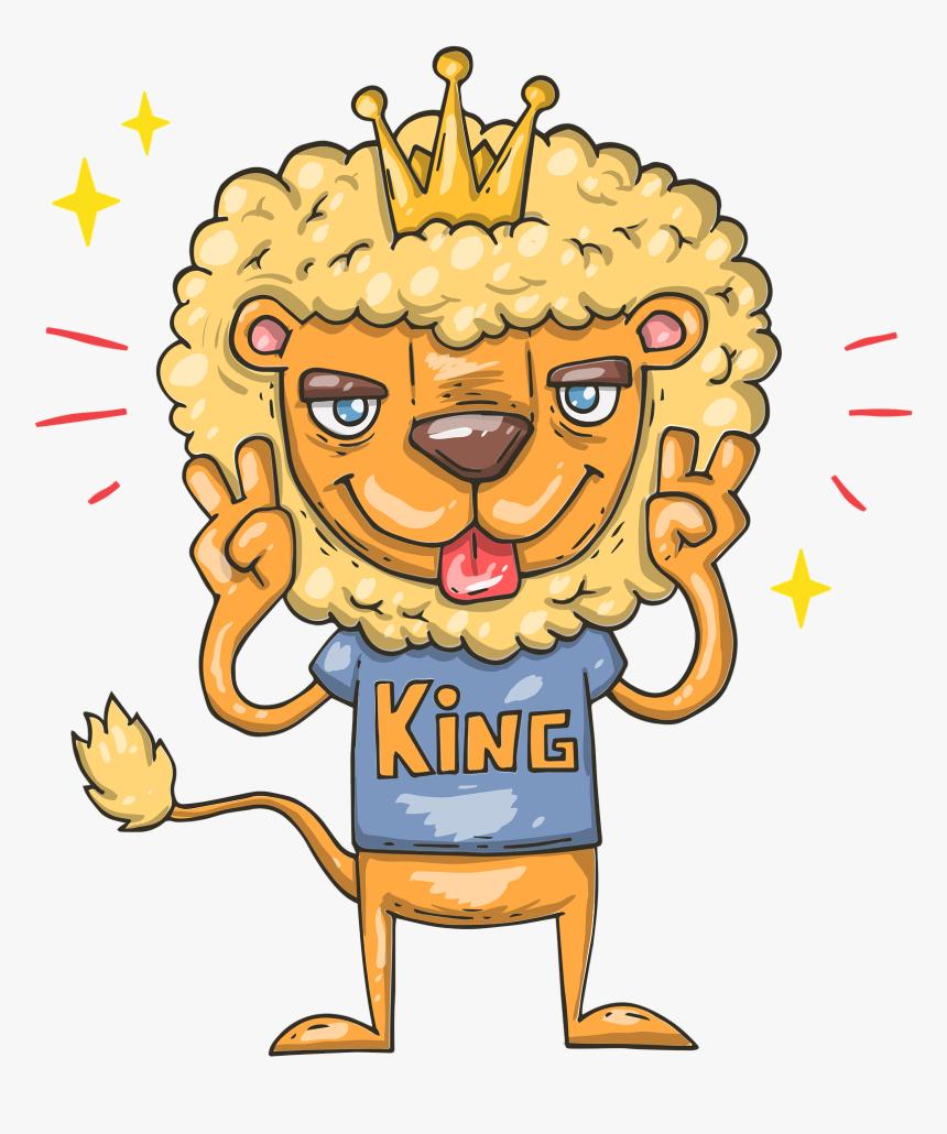 Gambar Animasi Singa Lucu HD Download Kindpng
