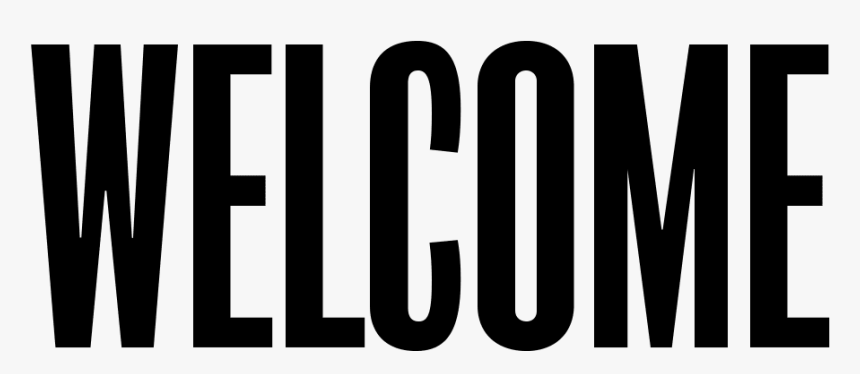 Welcome Png, Transparent Png, Free Download