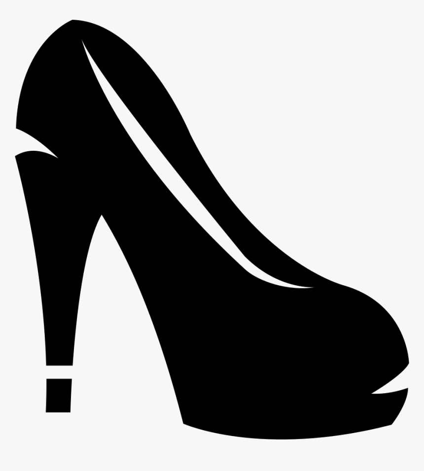 Feminine Heel Shoe Png - Women's Footwear Icon Png, Transparent Png, Free Download