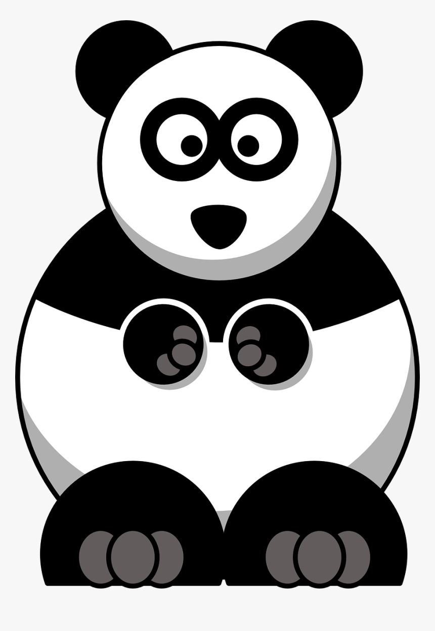 Transparent Baby Panda Png Cartoon Panda Png Download Kindpng