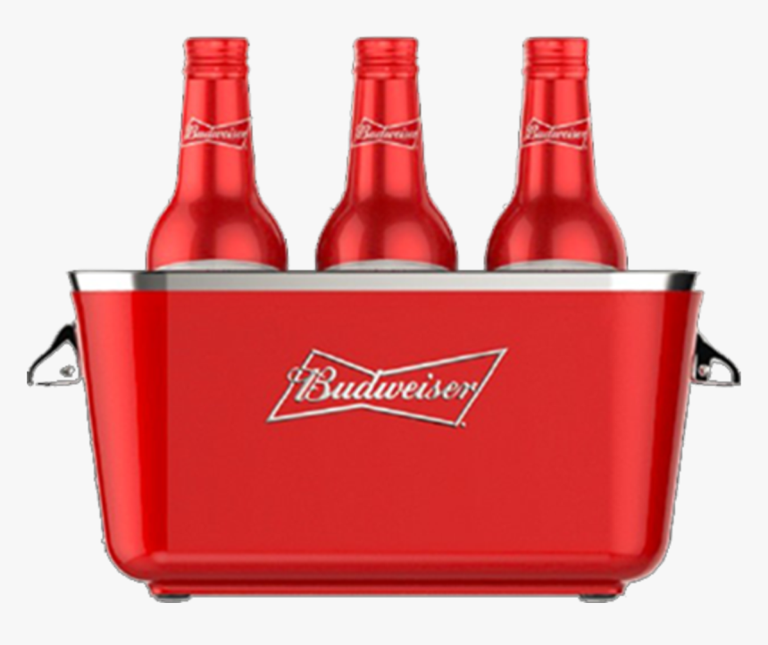 Transparent Budweiser Beer Bottle Png - Bucket Budweiser Png, Png Download, Free Download