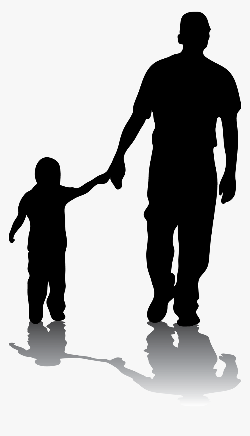 father silhouette son daughter family father day quotes in urdu