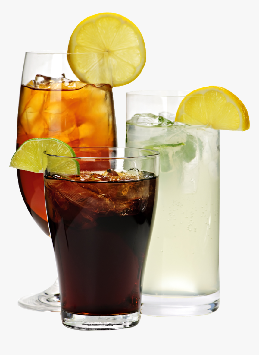 Soft Drink Png - Soft Drinks In Glass, Transparent Png, Free Download