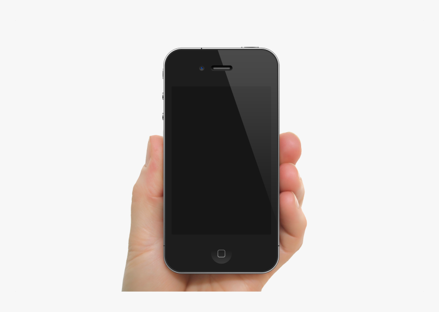 Transparent Cell Phone Icon Png - Iphone 5s Mockup Holding, Png Download, Free Download
