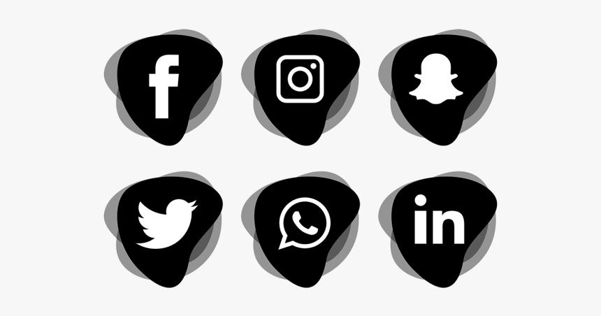 Clip Art Icon For Social Media - Social Media Logo Transparent Background, HD Png Download, Free Download