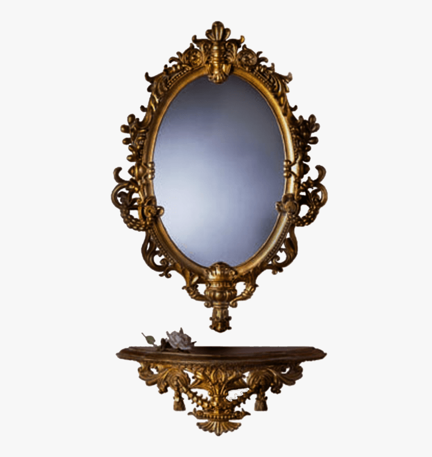 Mirror Furniture - Mirror Png, Transparent Png, Free Download
