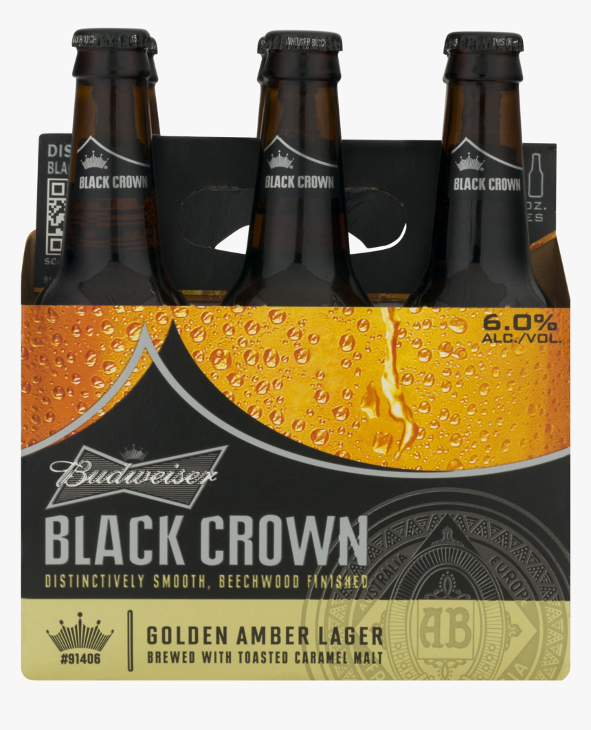Beer Bottle , Png Download - Budweiser Black Crown, Transparent Png, Free Download