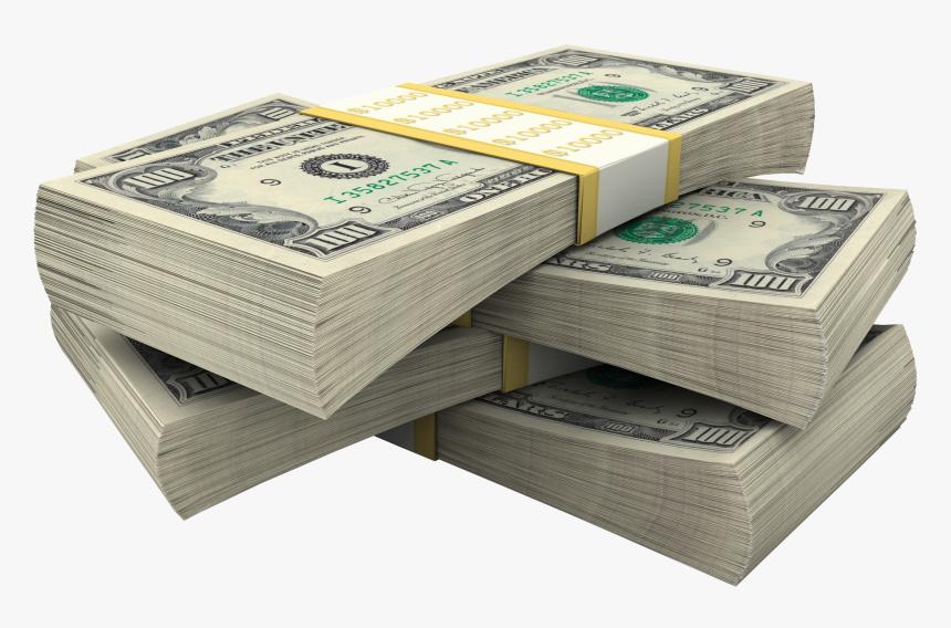 Stack Of Dollar Bills Money - Money Stack Png, Transparent Png, Free Download