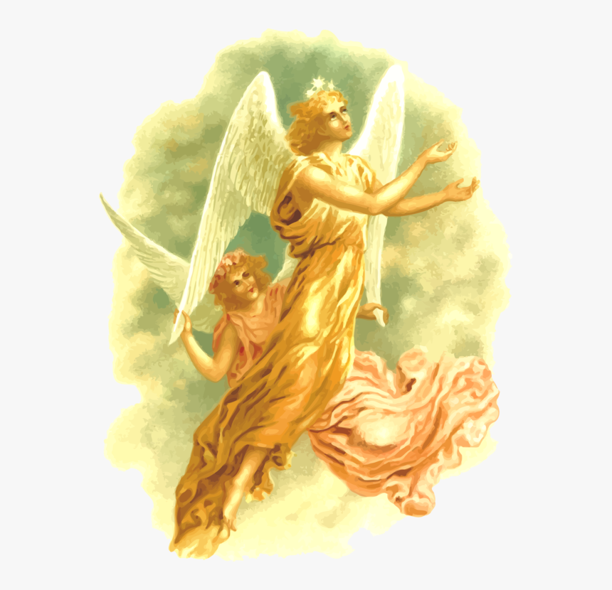 Transparent Christmas Angels Clipart - Public Domain Art Angel Christmas, HD Png Download, Free Download