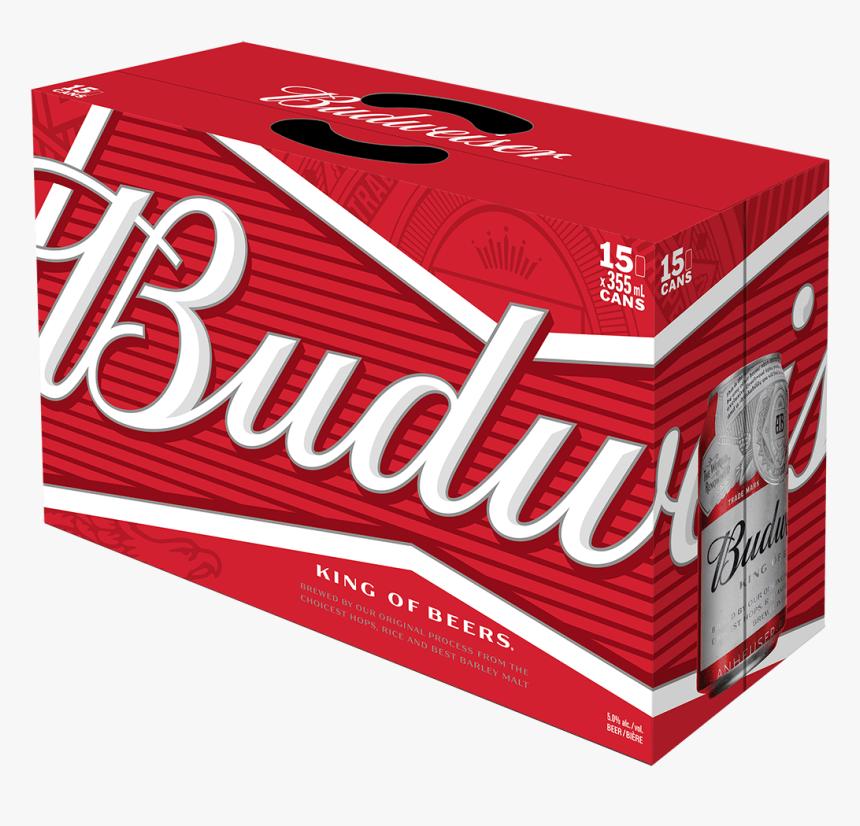 Budweiser 15 X 355 Ml - Budweiser 36 Pack, HD Png Download, Free Download