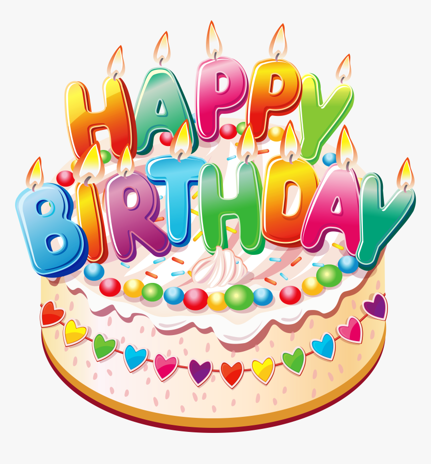 Pictures Of Cakes Candles Happy Birthday Cake Png Transparent Png Kindpng