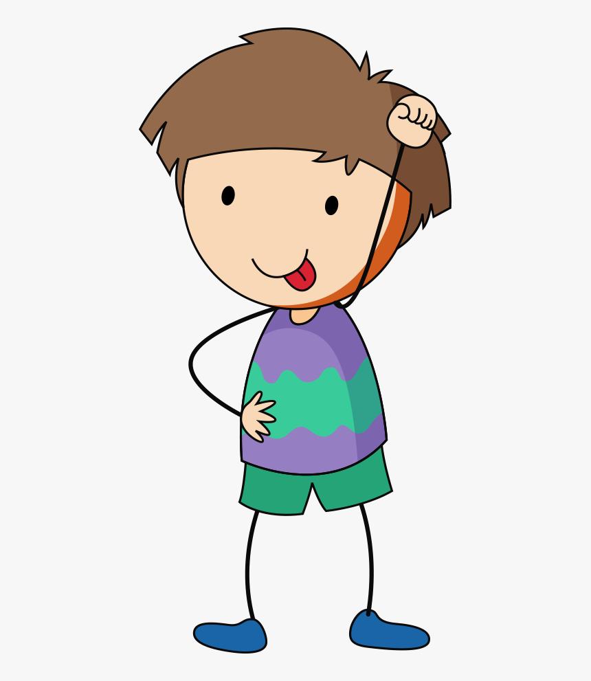 Child Cartoon Boy Little Boy Cartoon Transparent Background Hd Png Download Kindpng