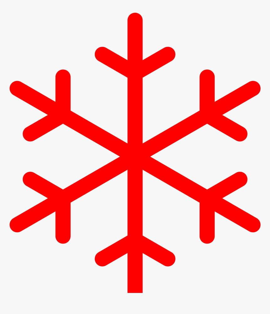 Clip Art Image Library Stock - Снежинка Пиктограмма, HD Png Download, Free Download