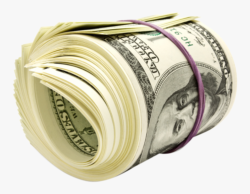 Transparent Stacks Of Money Png - Roll Of Money Png, Png Download, Free Download
