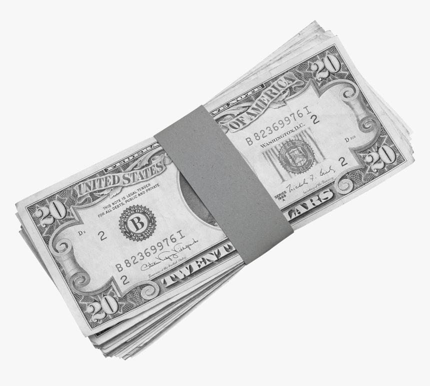 Banknotes Transparent Png - Old 20 Dollar Bill, Png Download, Free Download