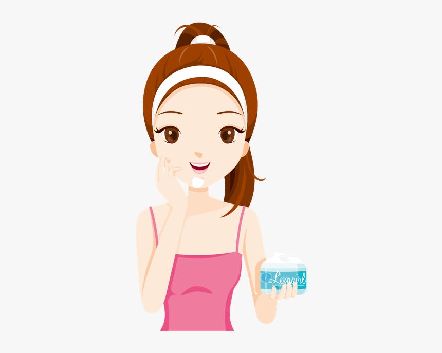 gambar kartun perawatan wajah hd png download kindpng gambar kartun perawatan wajah hd png