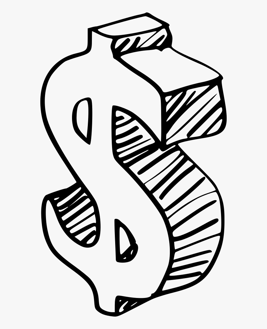 Money Drawing Free Download - Money Drawing, HD Png Download, Free Download