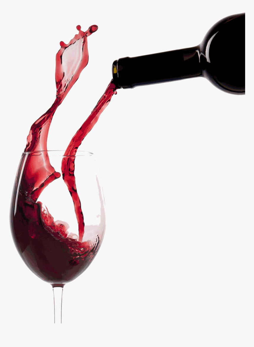 Pouring Red Wine Glass - Pour A Glass Of Wine, HD Png Download, Free Download
