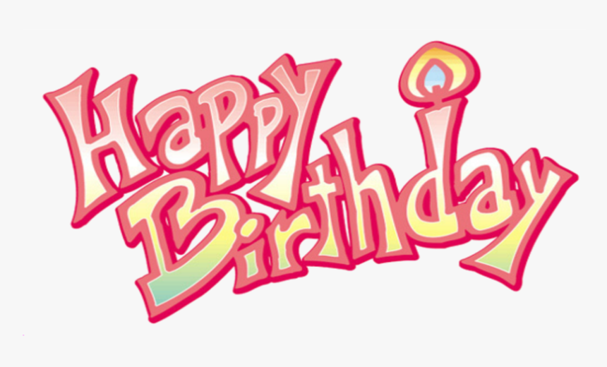 Download Happy Birthday Png Transparent Image - Happy Birthday For Girl Png, Png Download, Free Download