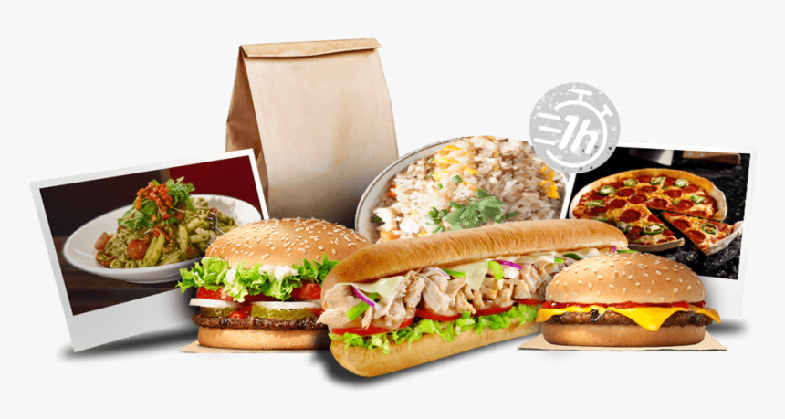 Click Digital Growth - Fast Food, HD Png Download, Free Download