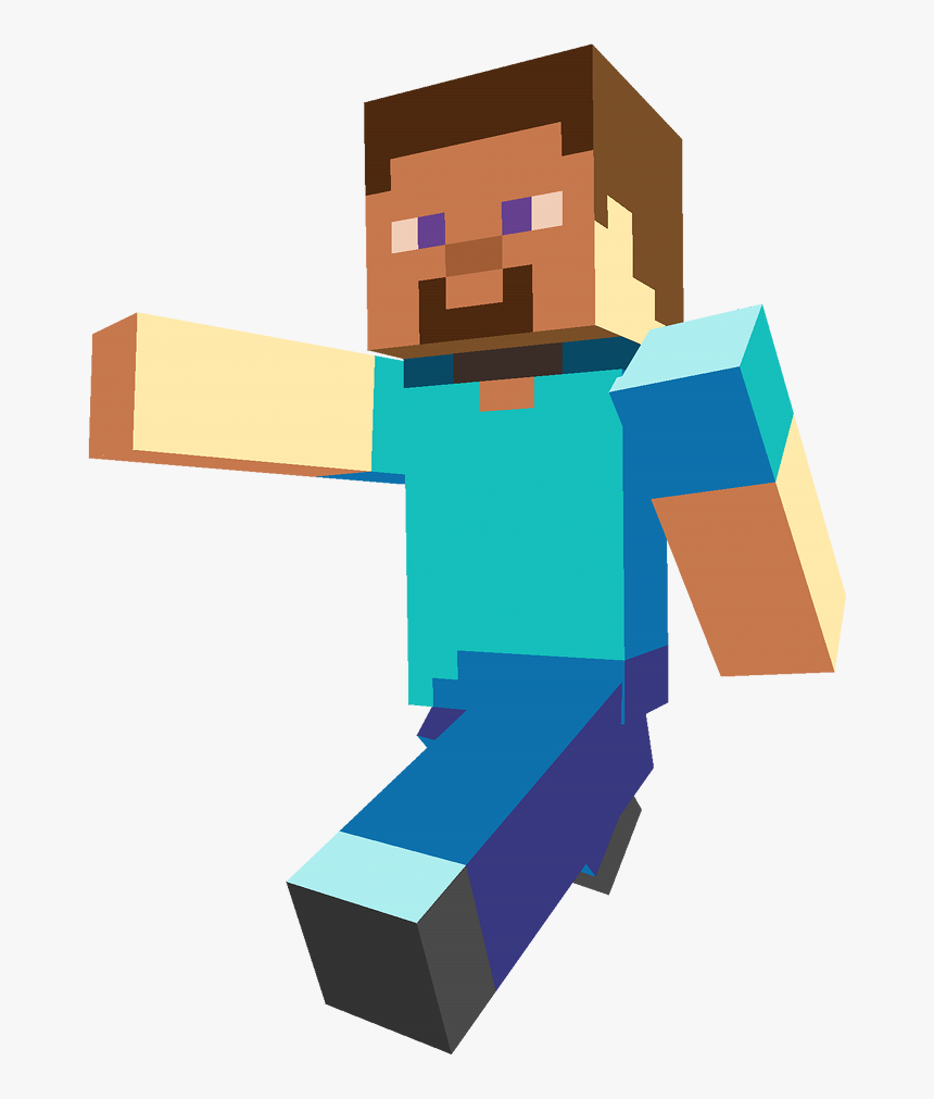 Minecraft Steve Png Transparent Png Kindpng