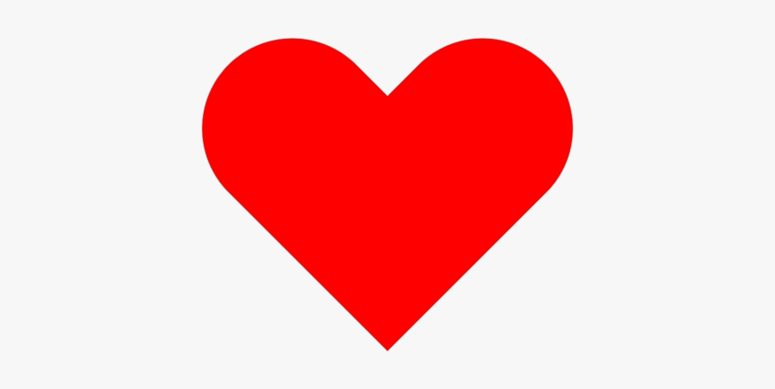 How To Make Shapes - Heart Emoji White Background, HD Png Download, Free Download