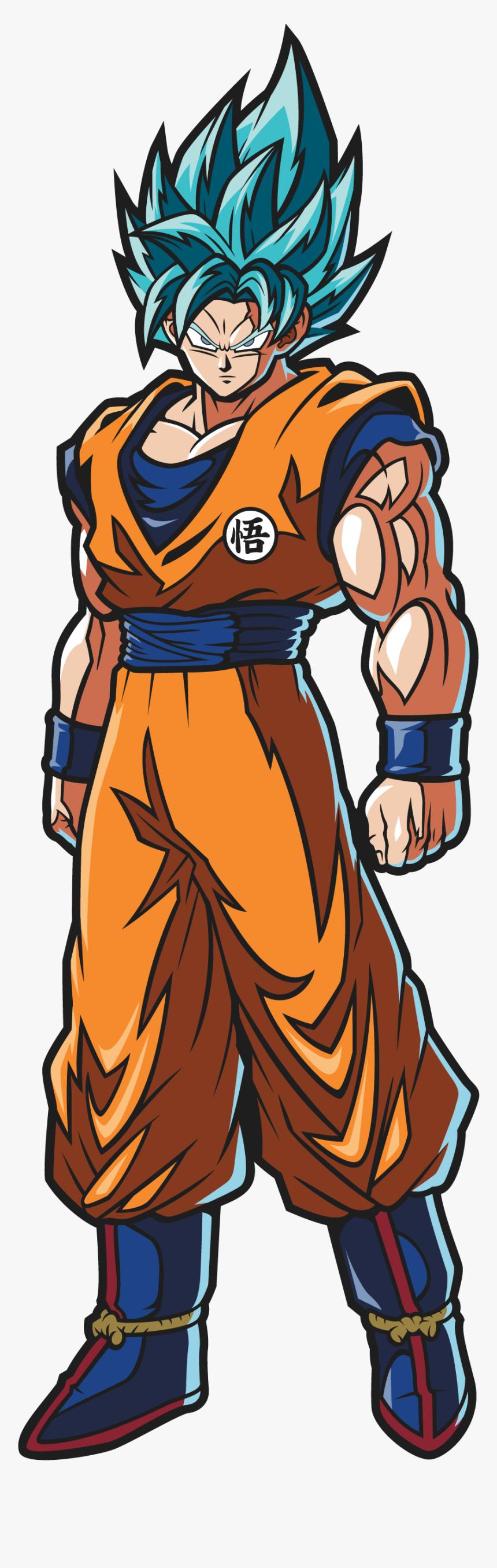 Dragon Ball Fighterz Ssj Goku, HD Png Download, Free Download
