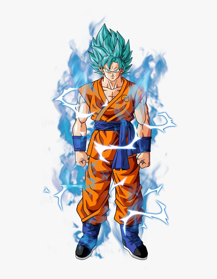 Super Saiyan Blue Goku - Goku Dragon Ball Super Png, Transparent Png, Free Download
