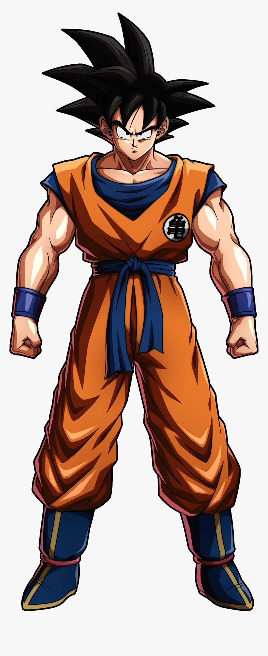 Normal - Dragon Ball Fighterz Base Goku, HD Png Download, Free Download