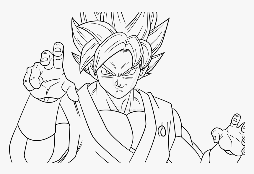 Download Super Saiyan Coloring Pages Goku Blue And Goku