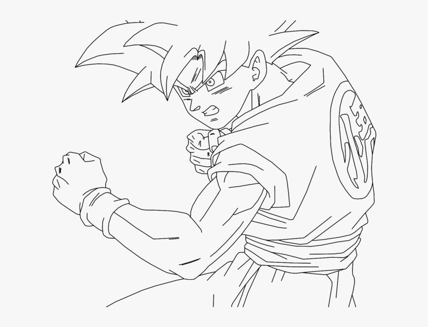 Super Saiyan God Goku Alternate Colors - Dragon Ball Super Super Saiyan God Drawing, HD Png Download, Free Download