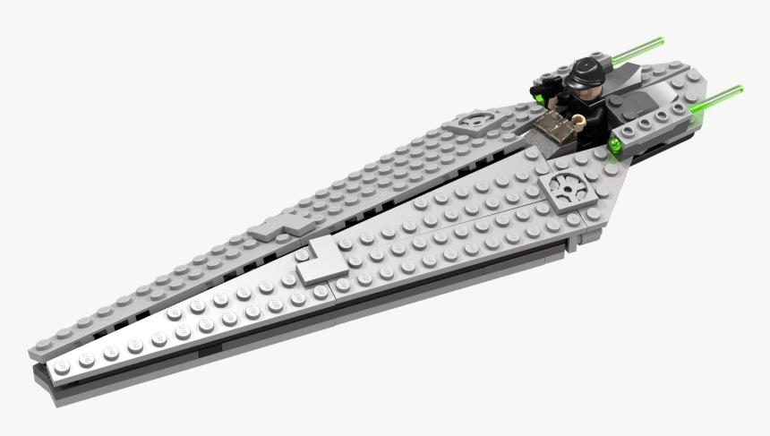 Lego Super Star Destroyer Transparent Background - Lego Micro Super Star Destroyer, HD Png Download, Free Download