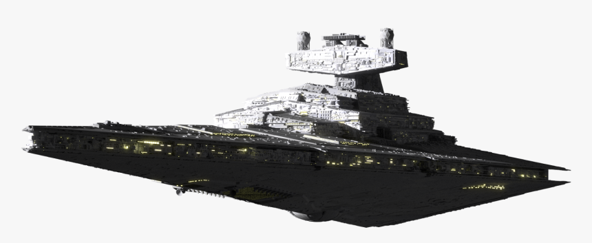 Star Wars Clipart Star Destroyer - Imperial Star Destroyer Png, Transparent Png, Free Download
