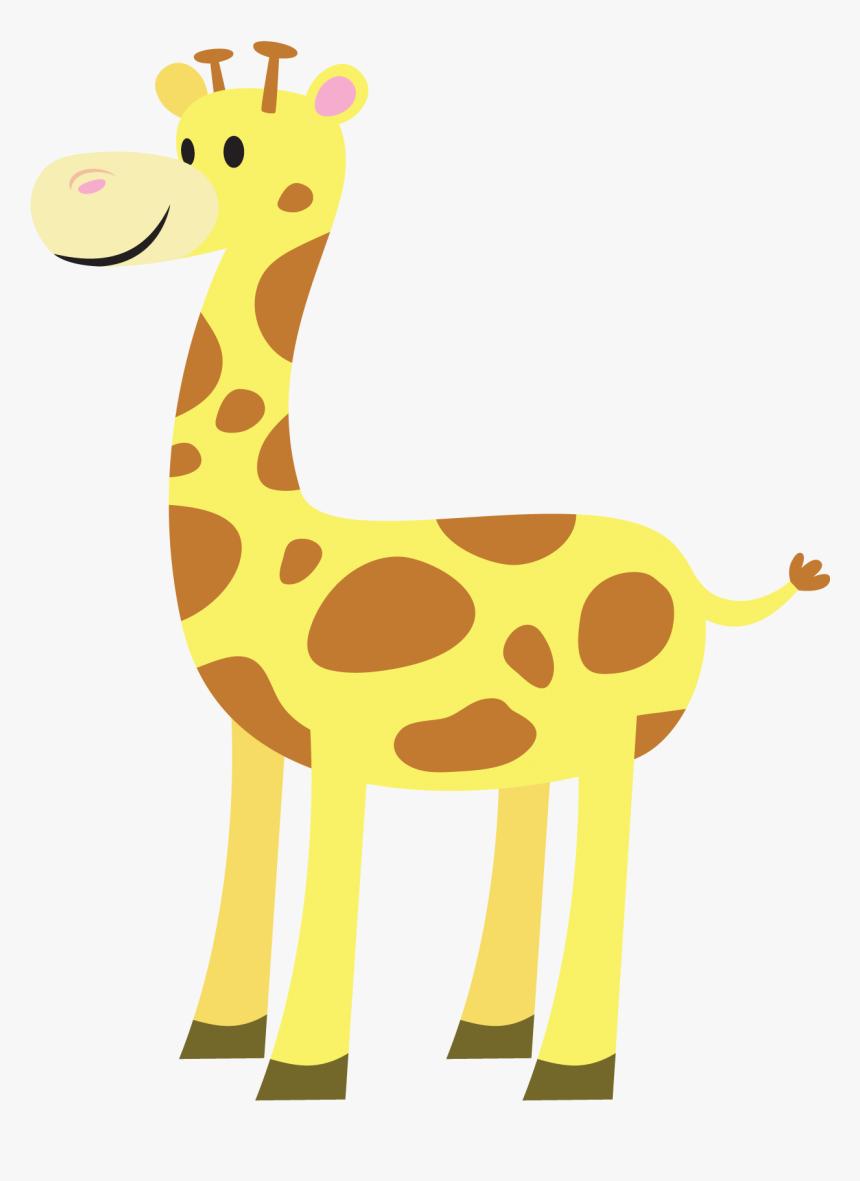 Cute Giraffe Clipart Girafa Desenho Pdf Transparent Hd Png