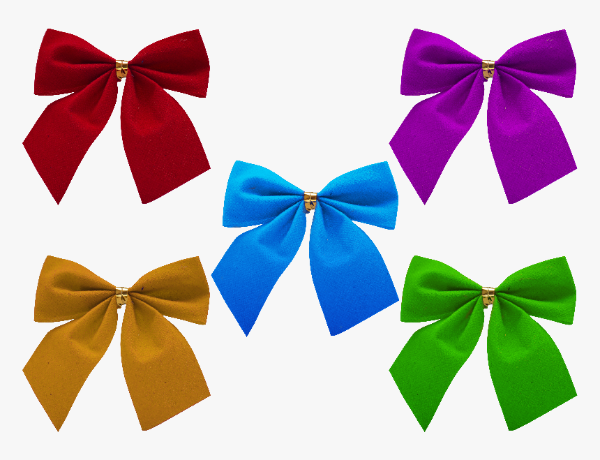 Christmas Bow Png Free - Photoshop Christmas Bows Png, Transparent Png, Free Download