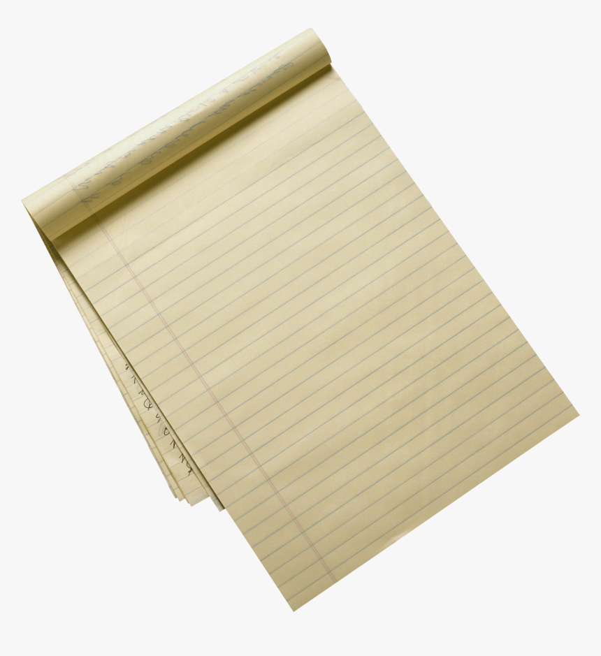 Recycled Lined Paper Sheet - Png Image Scratch Paper, Transparent Png, Free Download