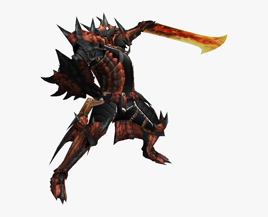 Monster Hunter Male Rathalos Armor Hd Png Download Kindpng