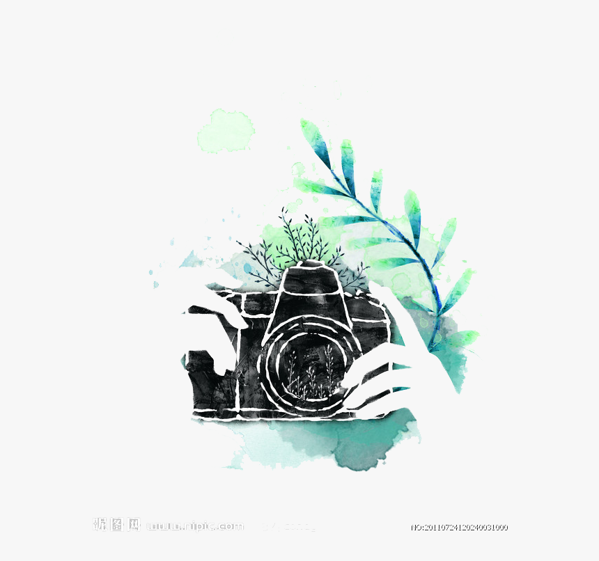 Lens Watercolor Photography Camera Free Download Png Watercolor Camera Png Transparent Png Kindpng
