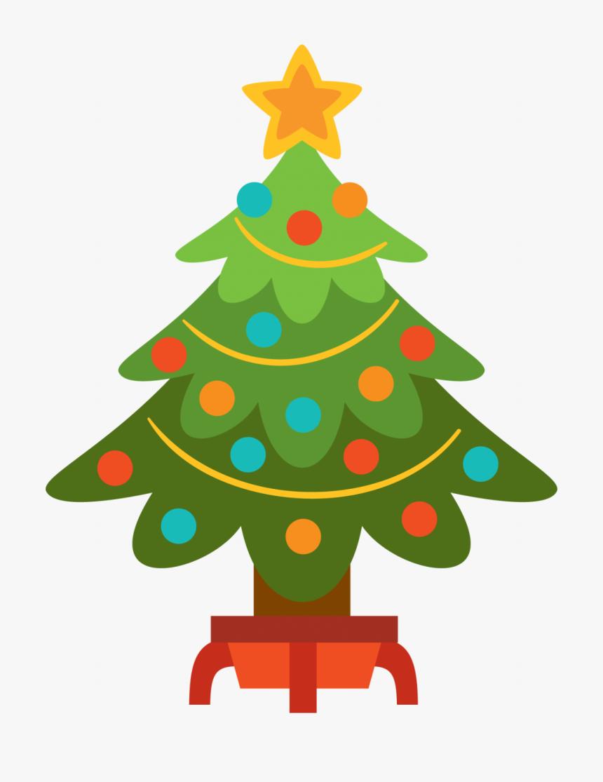 Christmas Tree Clipart Easy