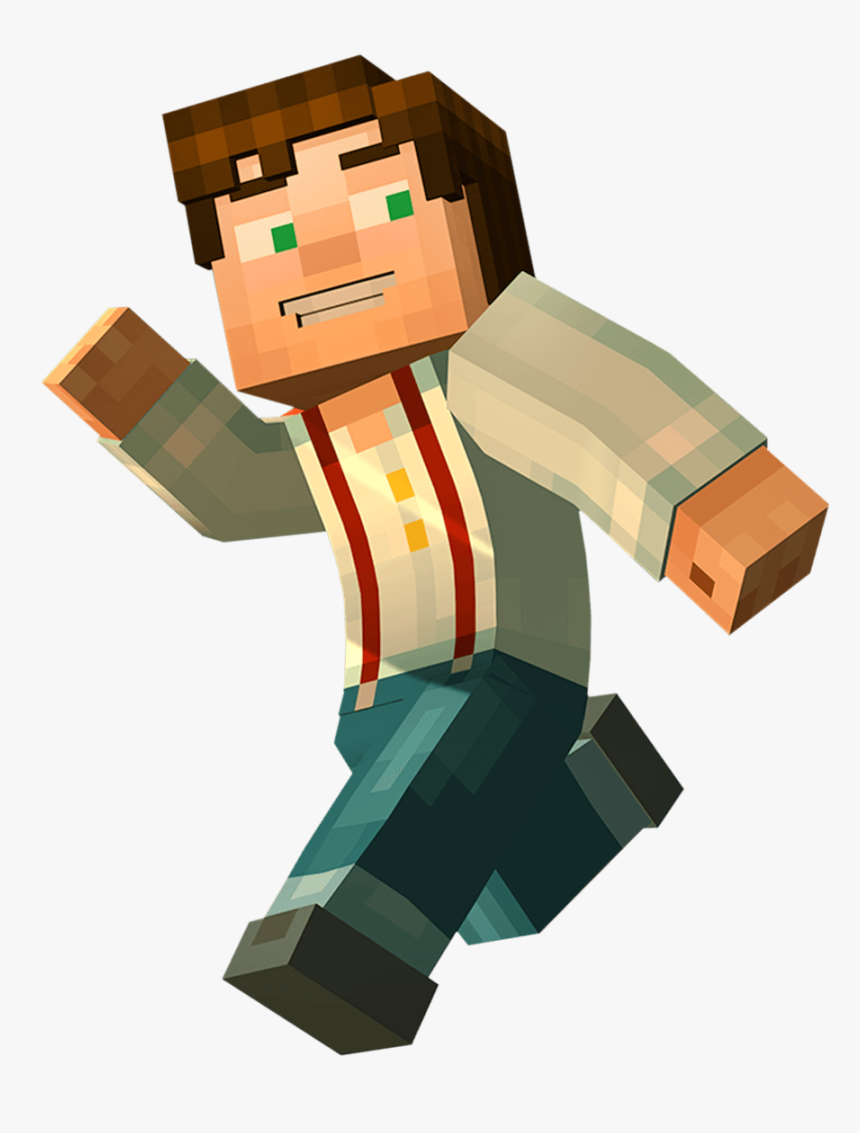 Minecraft Story Mode Male Jesse Hd Png Download Kindpng