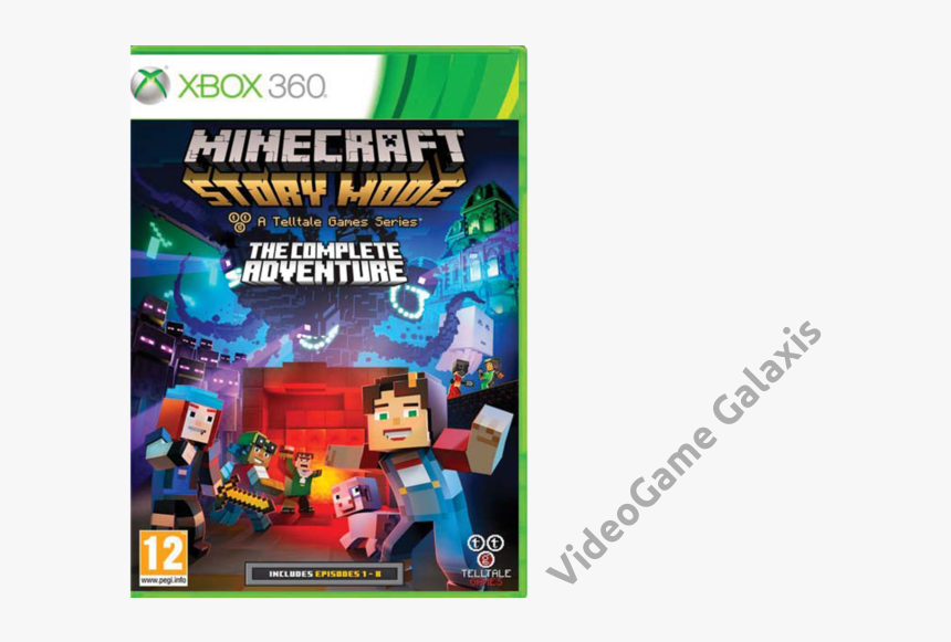 Minecraft Story Mode Complete Adventure Xbox 360 , - Minecraft Story Mode The Complete Adventure Xbox 360, HD Png Download, Free Download