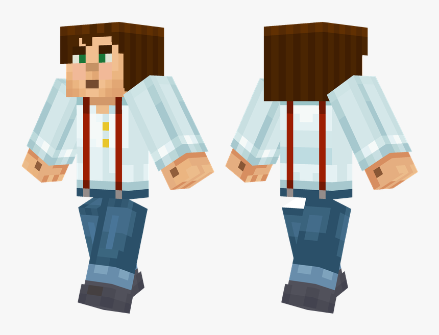 Skins De Minecraft Story Mode Jesse, HD Png Download, Free Download