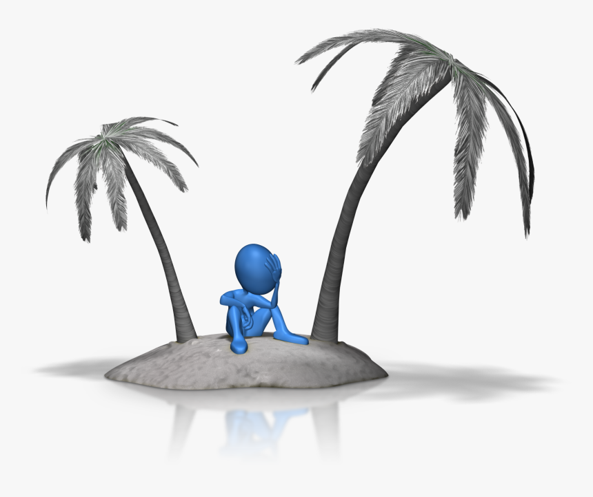 Stuck On Island 1600 Clr - Not On An Island Alone, HD Png Download, Free Download