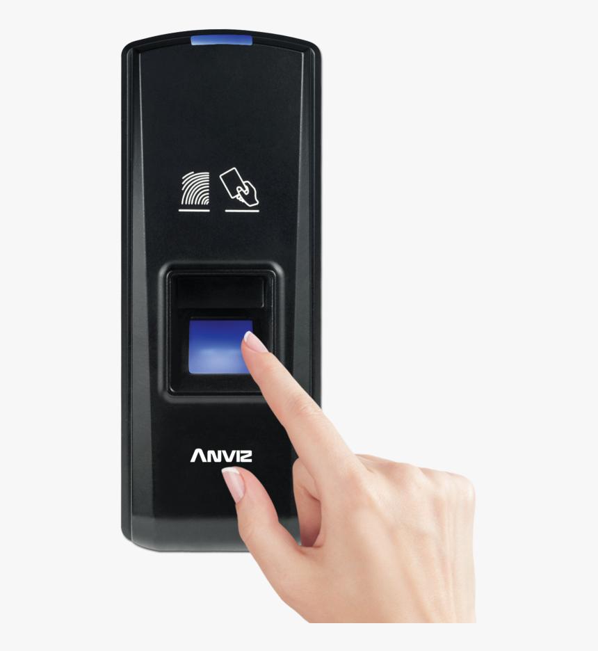 Anviz T5pro Fingerprint Door Access Malaysia-008 - Finger Print Door Access, HD Png Download, Free Download