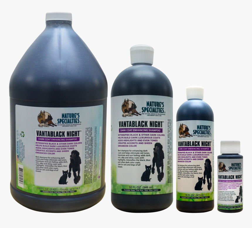 """Vantablack Night® Shampoo For Dogs & Cats""""  Data-zoom=""""//cdn - Nature's Specialties, HD Png Download, Free Download"""