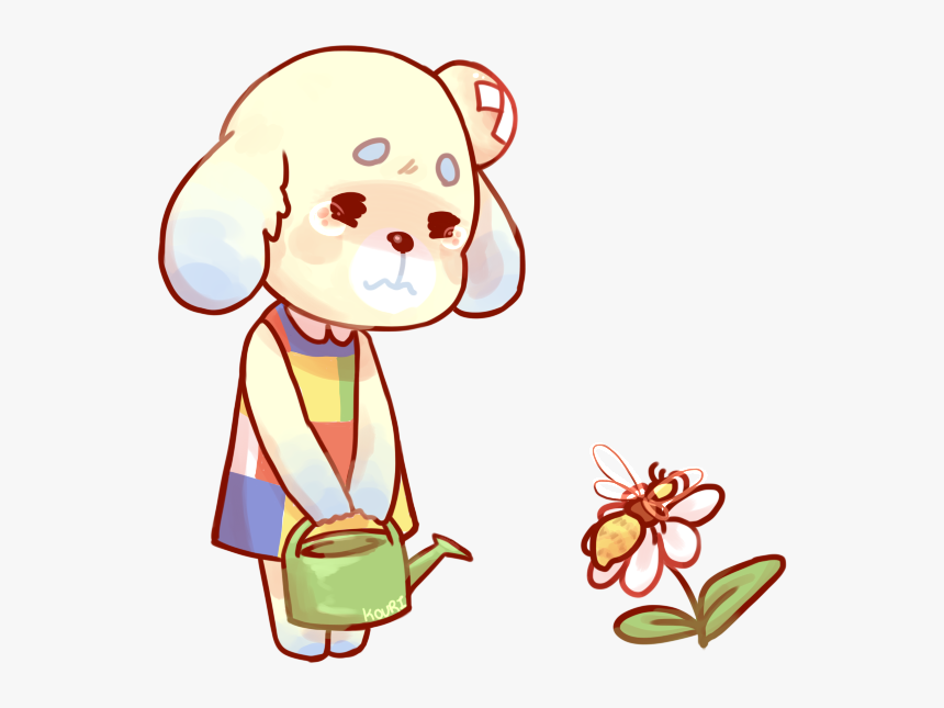 Animal Crossing Daisy Fanart, HD Png Download, Free Download