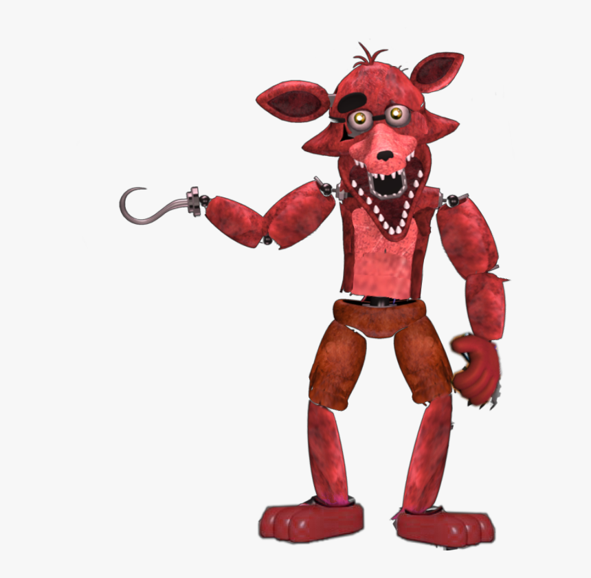 Unwithered Foxy - Cartoon, HD Png Download, Free Download